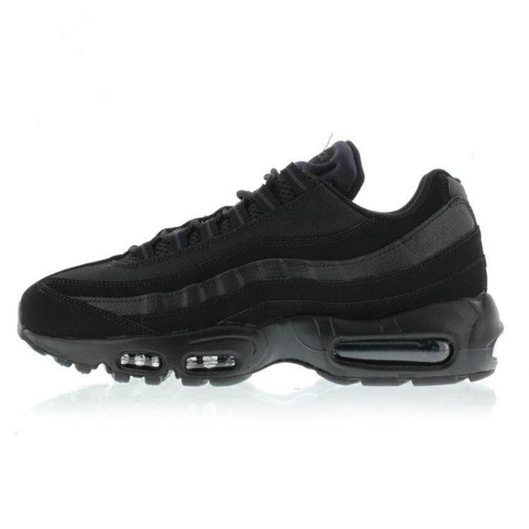 Drop Shipping Sensitive New Sports Hommes 95 Chaussures de course Noir Blanc Hommes meilleur marche athlétique Chaussures de tennis Gray Man formation Sneakers