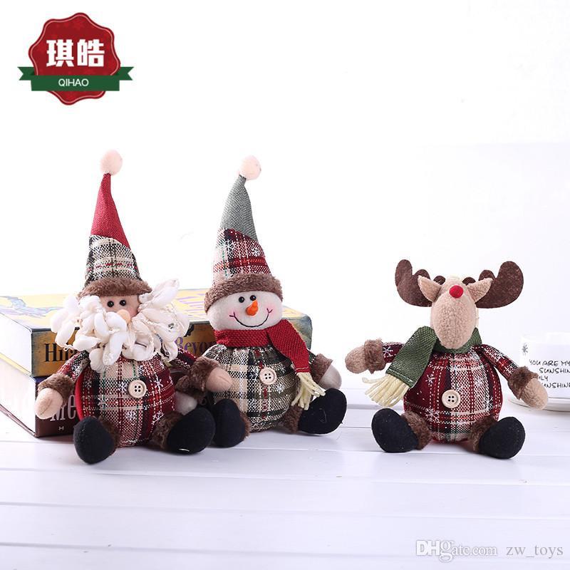 Großhandel Weihnachtsgeschenk Weihnachtsmann Schneemann Man Milu ...
