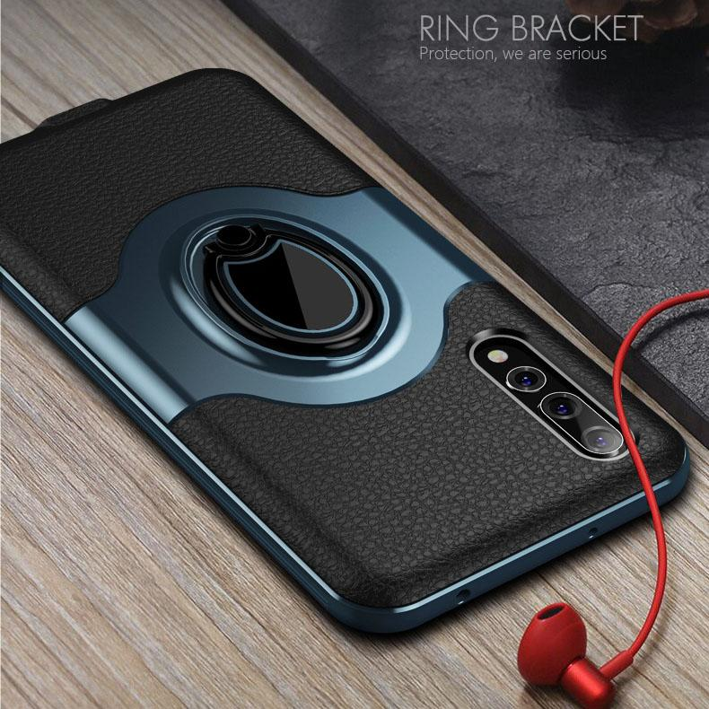 new concept 2542b 0ad9c For HUAWEI P20 P20 pro Case Car Holder Stand Magnetic Bracket Finger Ring  Case For HUAWEI P20 P20 pro Case Funda Capa