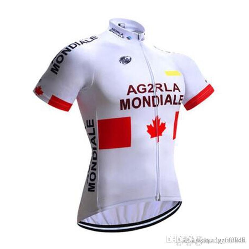 AG2R Team 2018 New Cycling Short Sleeves Sleeveless Vest Jersey Bike ... 6d82bdf10