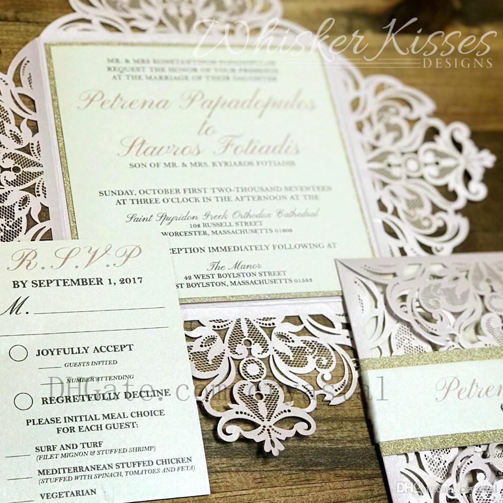 laser cut wedding invitation blush wedding lace laser cut wedding invite quinceanera invitation bar mitzvah invitation bridal shower shower invitations