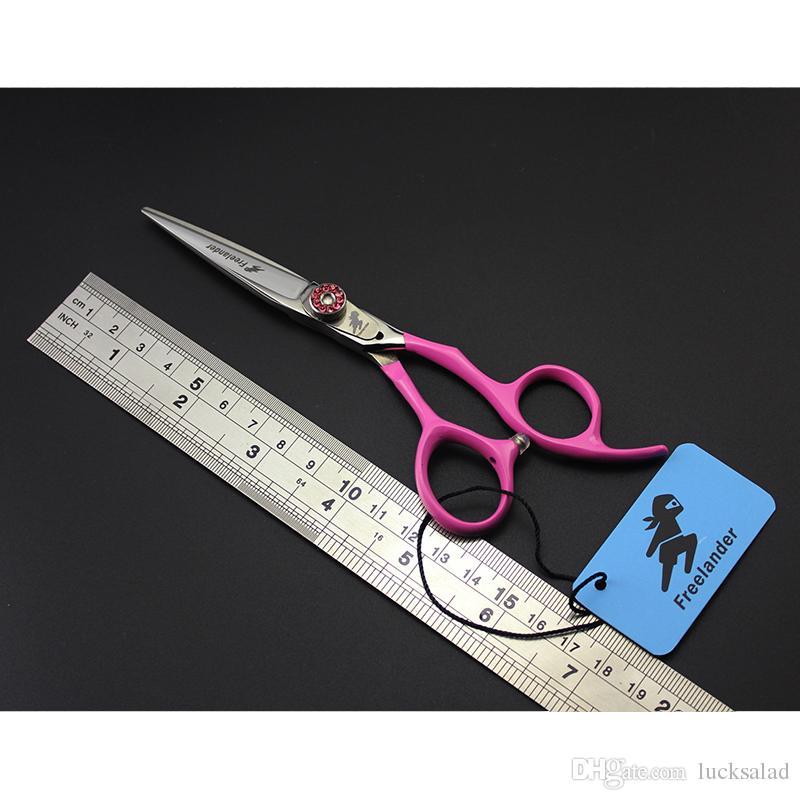 Ciseaux à cheveux en acier inoxydable de 5,5 ou 6 pouces en acier inoxydable pour salon de coiffure, coupe de cheveux, coupe, ciseaux à effiler
