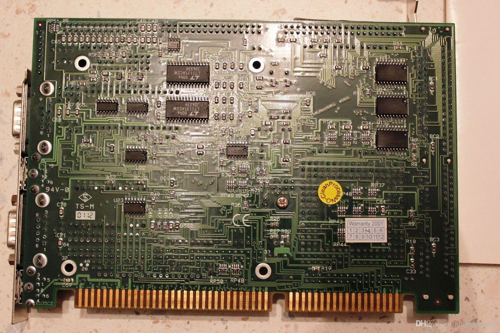SSC-5X86H 486 Uzun Kart Endüstriyel Anakart 100% mükemmel kalite test