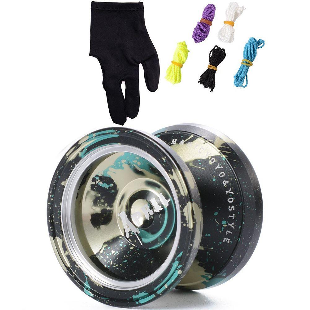 MAGICYOYO 7x Ball M002 Yo Yo Ball Toy Lega Yo-Yo con mulinello mimetico