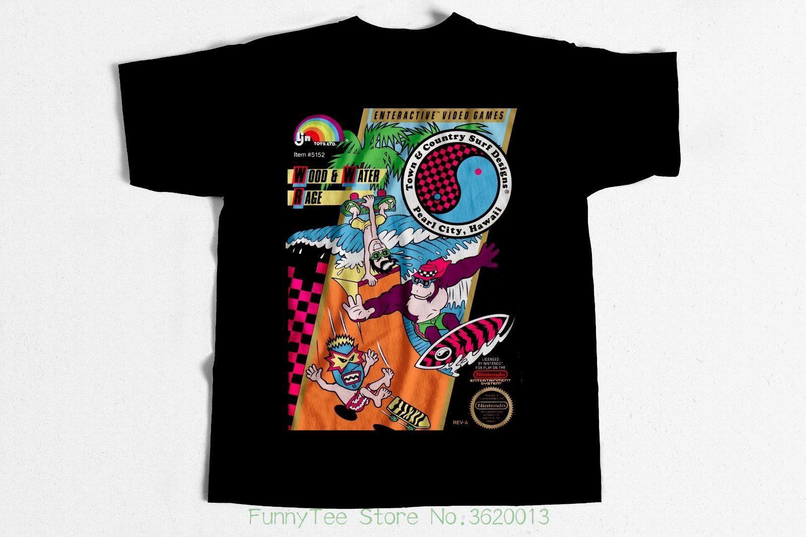 941e5ec039c Vintage Skate Surfer T Shirt Da Boys Nintendogame 80s Surfer Skateboard  Best Tee Shirts T Shirts Cheap From Funnyteestore