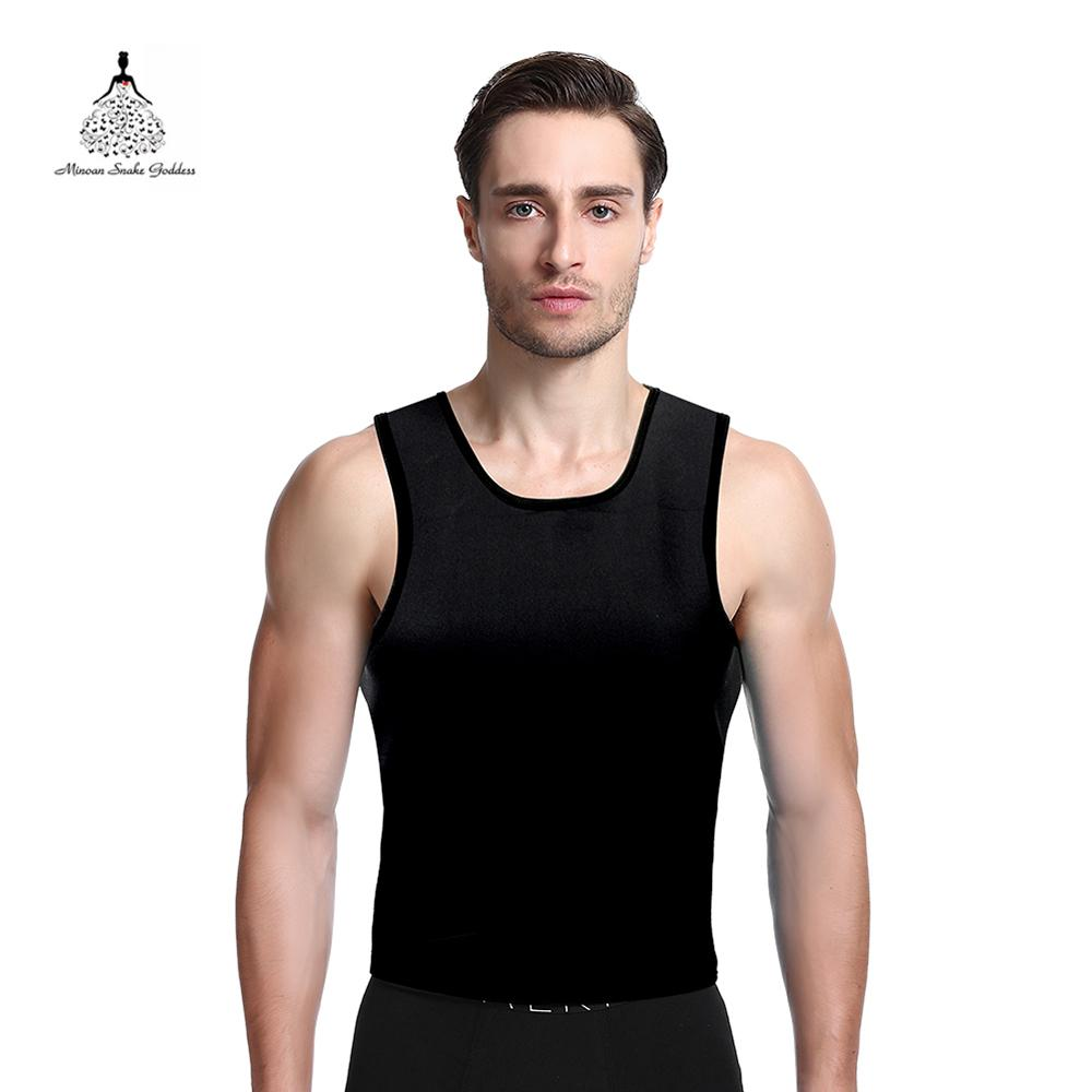 a78d1e09ad Men Slimming Belt Shaperwear Neoprene Slimming Vest Body Shaper Abdomen Fat  Burning Waist Trainer Sweat Vest Corset Hot Shaper Online with  29.8 Piece  on ...