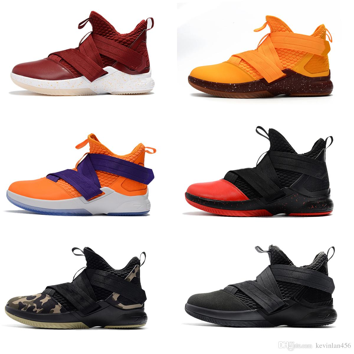 6160ab838fc721 New Style Men Sport Sneakers Medium Cut Basketball Shoes Brand Shoe High  Quality Vol.12 Trainers Mens Outdoor Sport Sneaker Shoes Size 40 46 Shoes  Canada ...