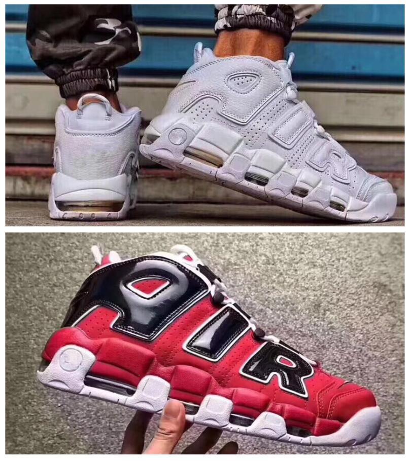 d50800c888e62 2017 Air More Uptempo Women Mens Basketball Shoes