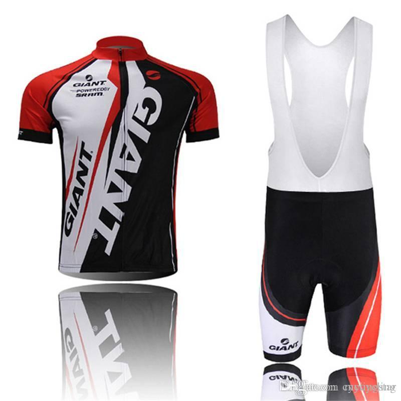 2018 Men GIANT Cycling Jersey Summer Quick Dry Cycling Clothing High ... 154ebbd31
