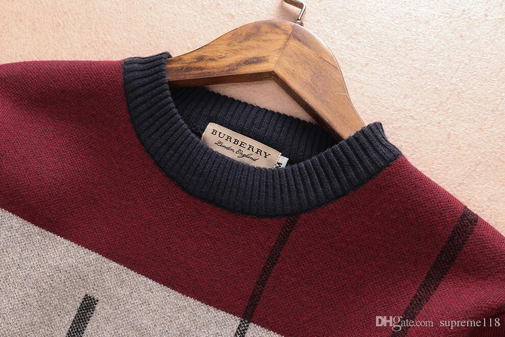 Spedizione gratuita 2018 Moda maglione nuova primavera di alta qualità con scollo a V uomo cardigan maglione di cachemire manica lunga maschio maglioni pullover maglione0