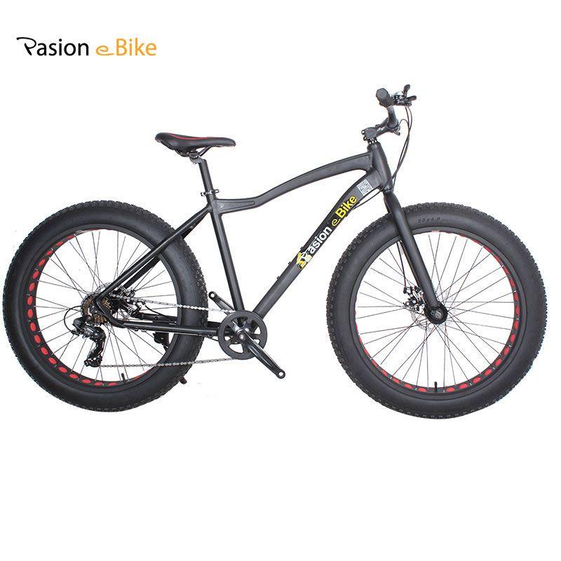 Wholesale Aluminium Frame 26*4.0 7 Speed Fat Tire Bicicleta Mountain ...