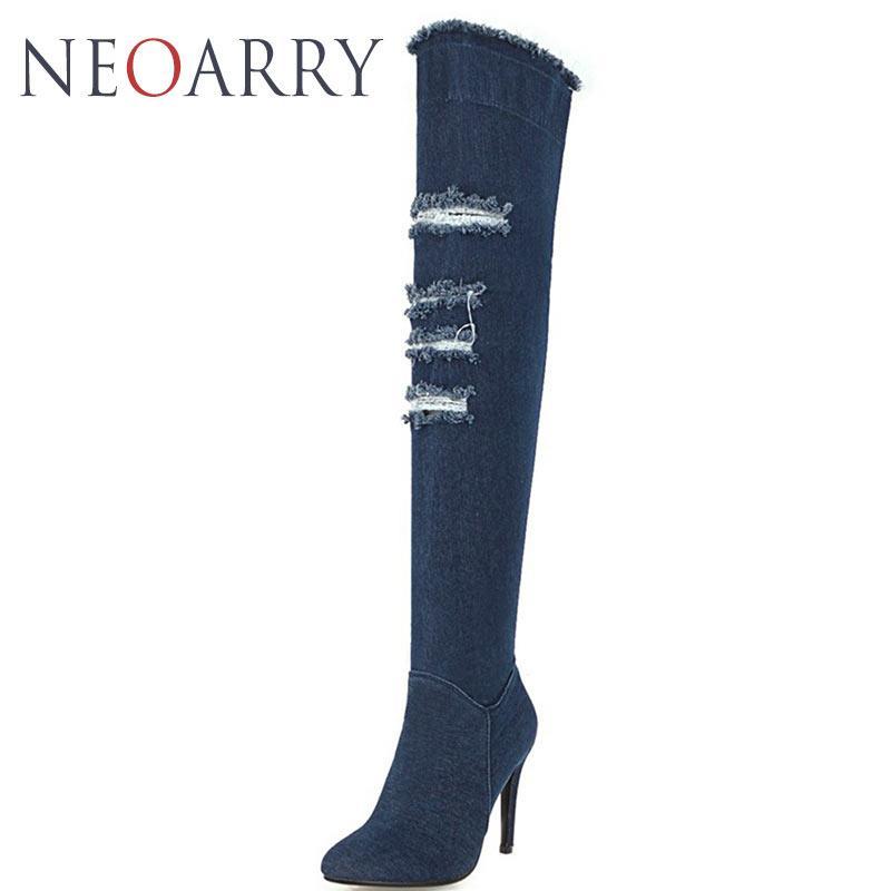3fb022e1b40 neoarry-hiver-bleu-denim-bottes-sur-le-genou.jpg