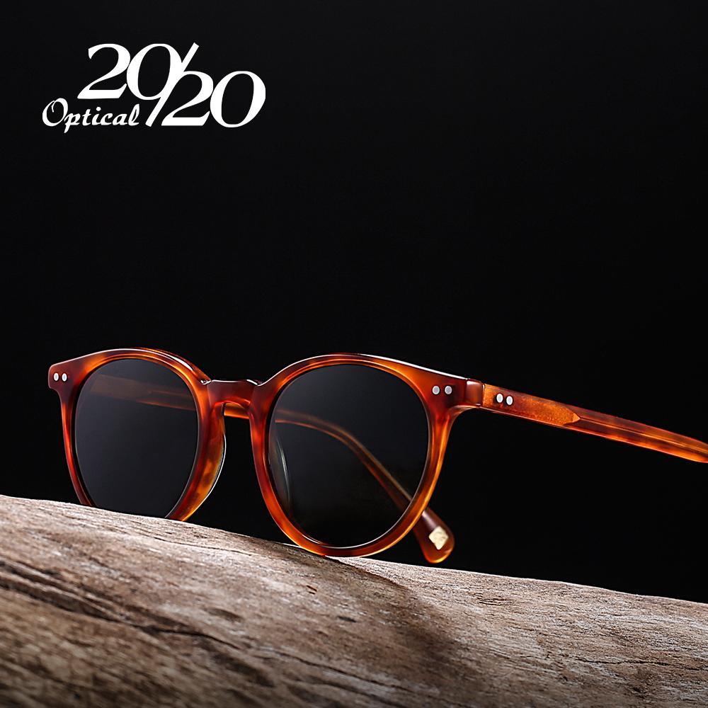 Compre 20 20 Marca Nuevo Unisex Gafas De Sol Polarizadas Hombres Mujeres  Acetato Gafas De Sol Retro Gafas De Conducción Oculos AT8036 A  29.95 Del  Kebe1 ... 45e6beb1f819