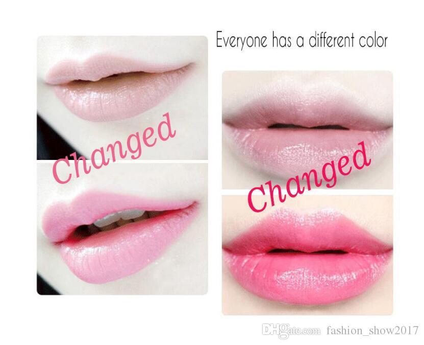 New Arrival Long Lasting Moisturizer Transparents Flower Lipstick Cosmetics Waterproof Temperature Change Color Jelly Lipstick Balm