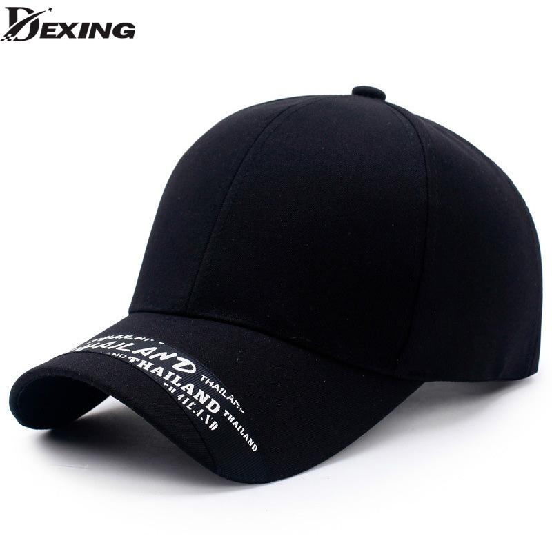 2018 Women Fashion 100% Cotton Baseball Cap Hat Decorative Band Letters  Snapback Cap Men Casquette K Pop Baseball Bone Custom Caps Cool Caps From  Fengyune 57fb9055ae0