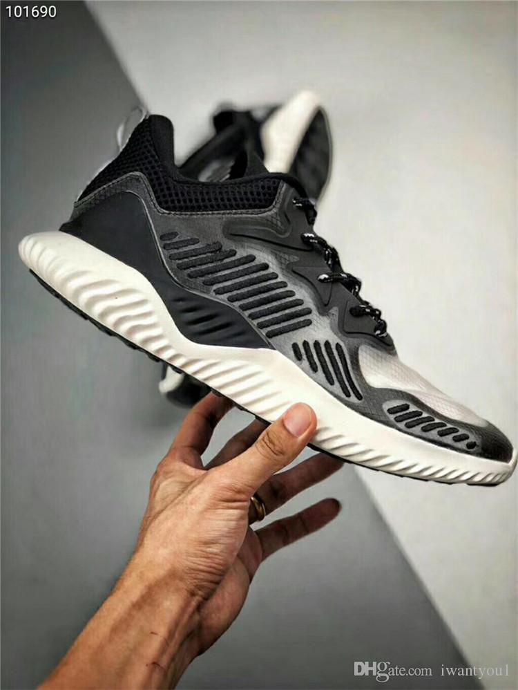 6e9b09eaf9b00 2019 Fashion 2018 AlphaBounce HPC AMS 3M Bouncetm Forged Mesh Man Running  Shoes White Black Authentic Sneakers With Original Box New Release From  Iwantyou1