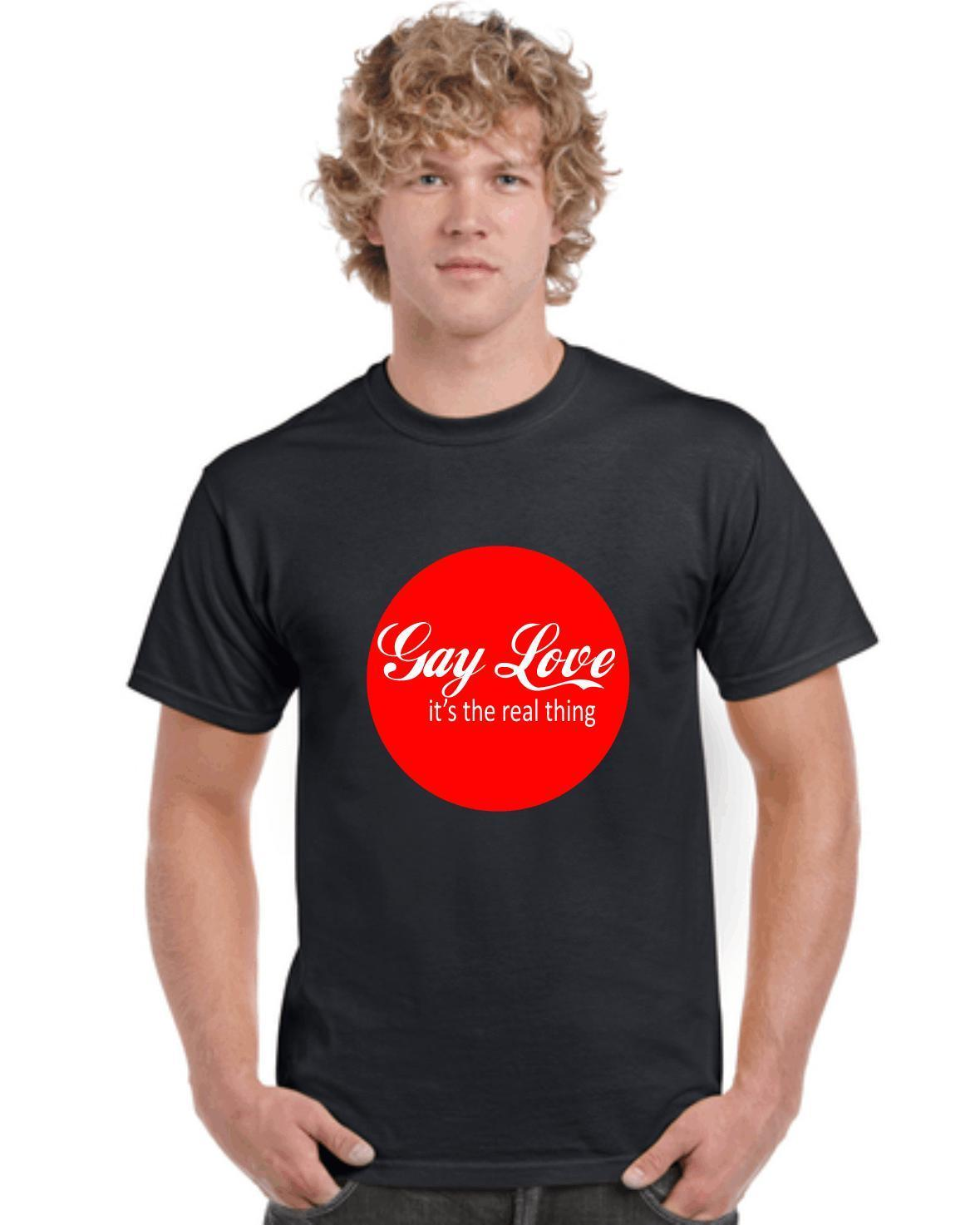955d1f9aad GAY LOVE,GAYS,LESBIANS,T SHIRTS,TEES,PRIDE,FUNNY,BIRTHDAYS,VALENTINES,FESTIVALS  2018 Summer New Fashion Best T Shirt Sites T Shirt Shopping From Yuxin0001,  ...