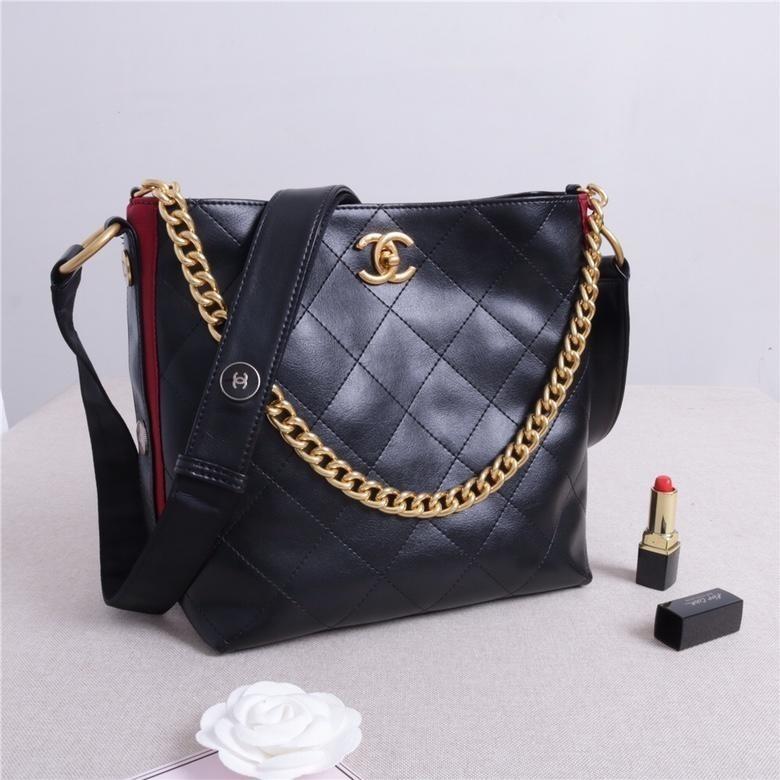 c27d7ed1e0 Ladies High End Designer Single Shell Tote Shoulder Bags Fashion Ladies  Handbag Laser Hardware Original Quality 23×24.5×13 Leather Bags For Women  Overnight ...