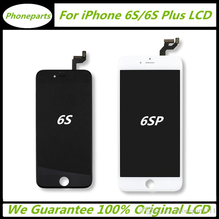 huge selection of b8ef6 ecad7 100% Original LCD Display Touch Screen Digitizer Frame Full Complete  Assembly For iPhone 6S 6S Plus Grade AAA Best Quality In The World