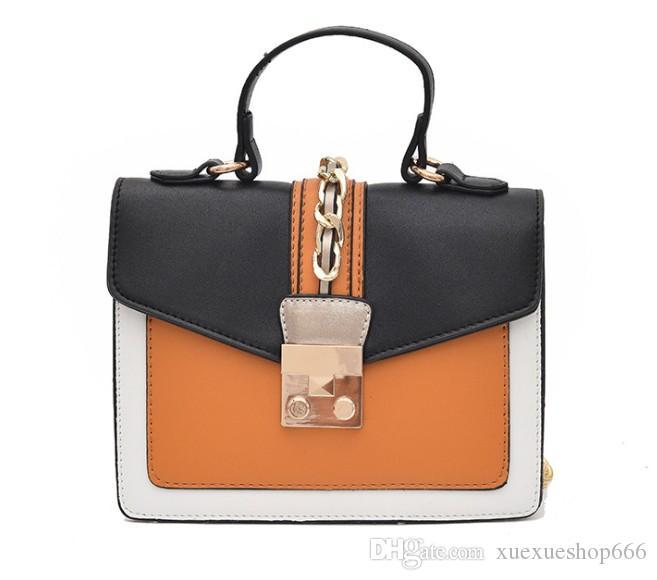 19afba7e50 Luxury Handbags Women Bags Designer Women Fashion Hit Color Famous Brands  New Handbag Trendy Tote Bags Wild Shoulder Bags Messenger Bag Cute Purses  Rosetti ...