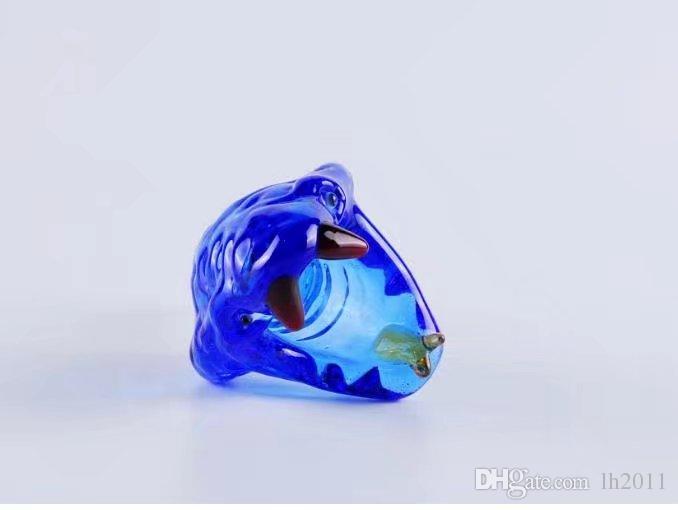 La cabeza del pájaro carpintero, Bongs al por mayor Quemador de aceite Tubos de vidrio Tuberías de agua Tuberías de vidrio Plataformas petroleras Fumar Envío gratis