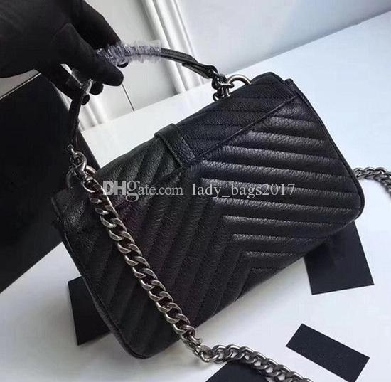 Newset Klassische Handtaschen-Frauen-Schulter-Handtasche Farben feminina Kupplung tote Dame-Kuriertasche Geldbeutel-Einkaufstaschen