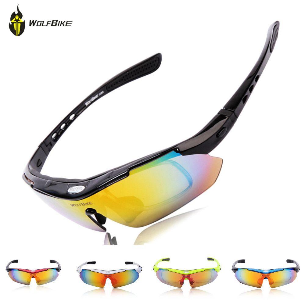 c46a9eb1df WOLF BIKE Cycling Polarized Outdoor Sports Bike Cycling Glasses ...