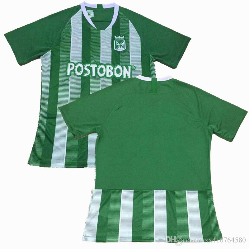 10db4e11d Großhandel New 2018 2019 Fußball Trikot Atletico Nacional 18 19 BORJA Heim  Fußball Sport Shirts S 2XL Von Xx416764580