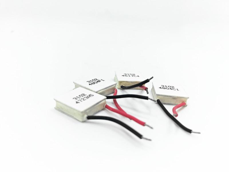 Wholesale-Beauty Apparatus Thermoelectric Cooler Peltier TES1-03102 mini  15*15mm low power 3V2A high efficiency Peltier e Module