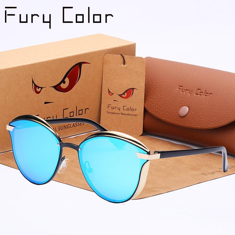 331c13a77a 2018 Fashion Cat Eye Polarized Sunglasses Women UV400 Vintage Designer  Luxury Designer Vintage Sun Glasses Shades Oculos De Sol Prescription  Sunglasses ...