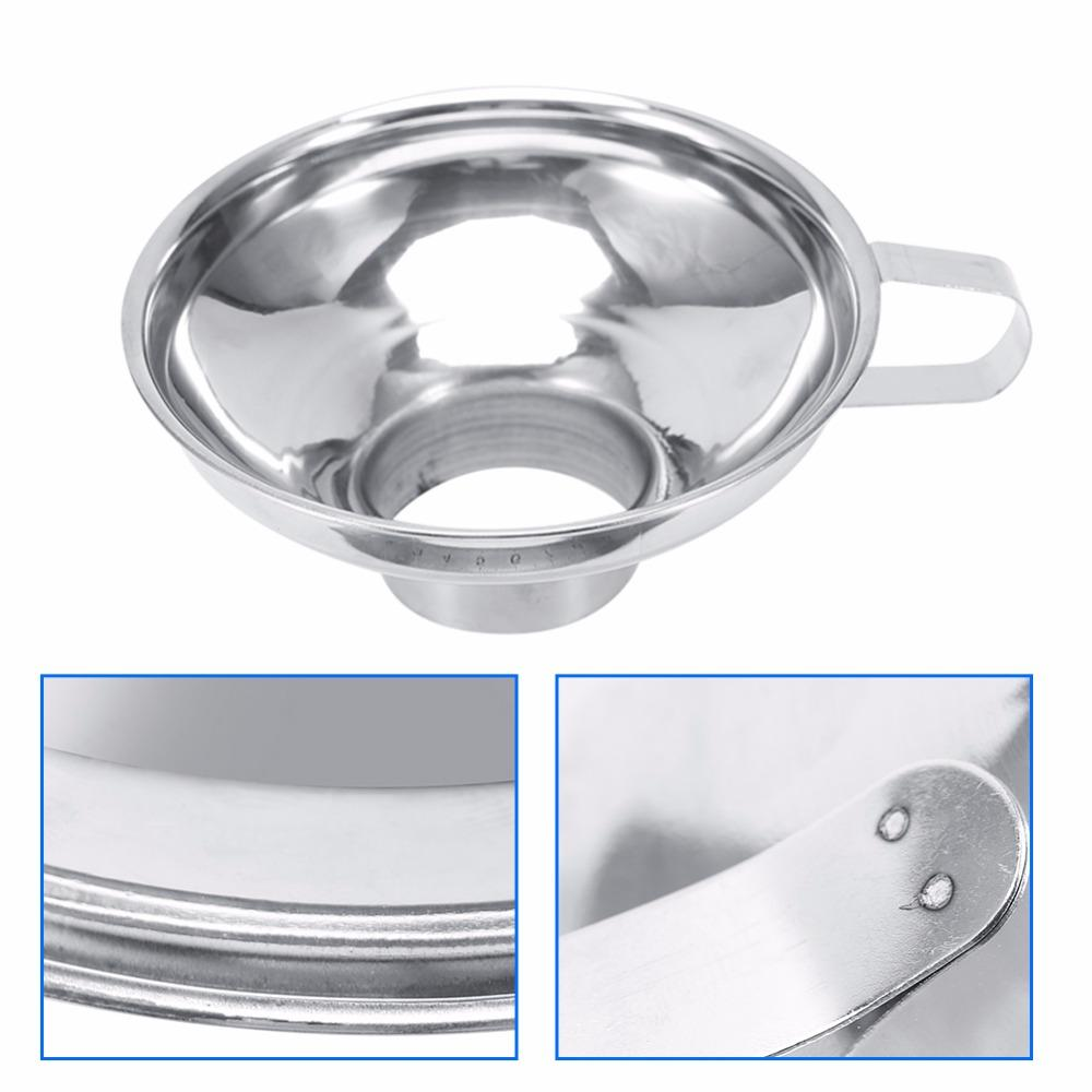Online Cheap Durable Stainless Steel Wide Mouth Canning Funnel ...