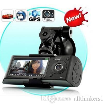 Car Camera black box GPS G-Sensor Camcorder 140 Degree Wide Angle 2.7inch HD Video Digital Recorder