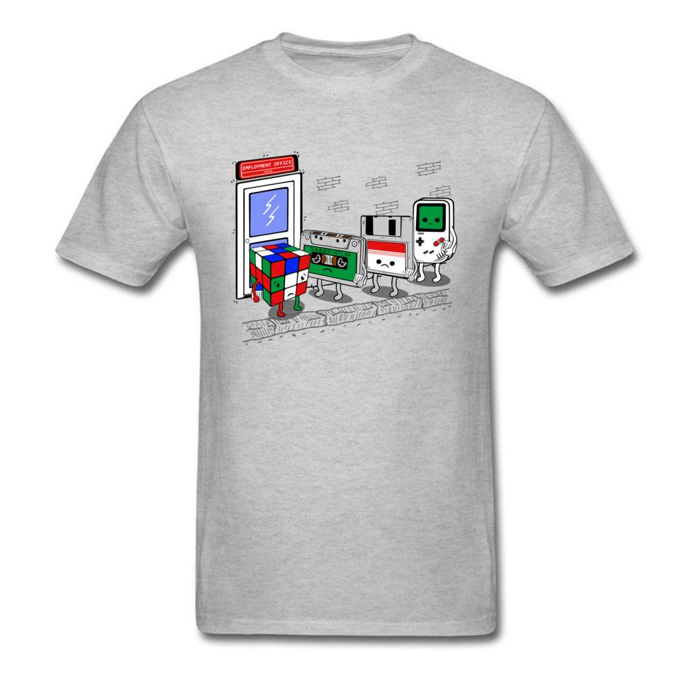 8015d4d852d0 Employment Office Tshirt For Men Funny Summer T Shirts Game Devices Cartoon  T Shirt Cube Cassette Chip Tops Tees Retro Be Awesome T Shirt Print On Tee  Shirt ...