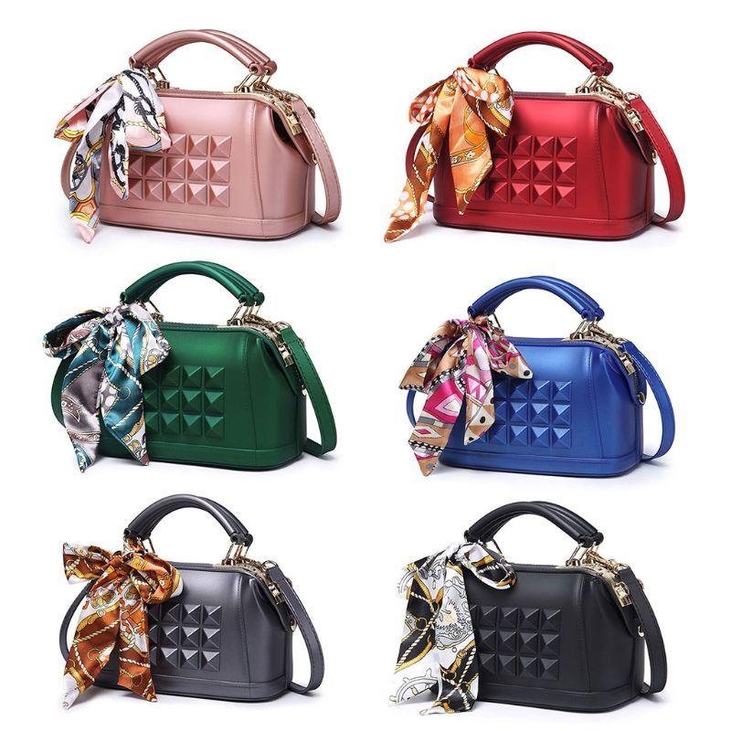 867590d19e15 Fashion Women PVC Shoulder Bag Messenger Satchel Tote Purse ...