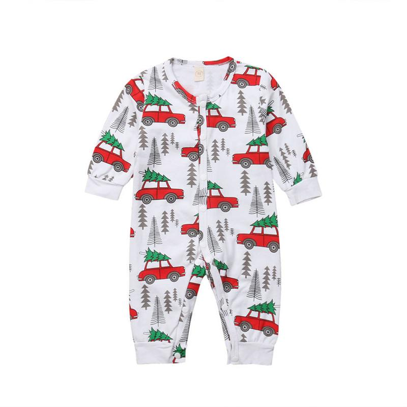 b522e83c627 Newborn Romper 2018 Newborn Baby Boy Girl Clothes Cartoon Printing ...