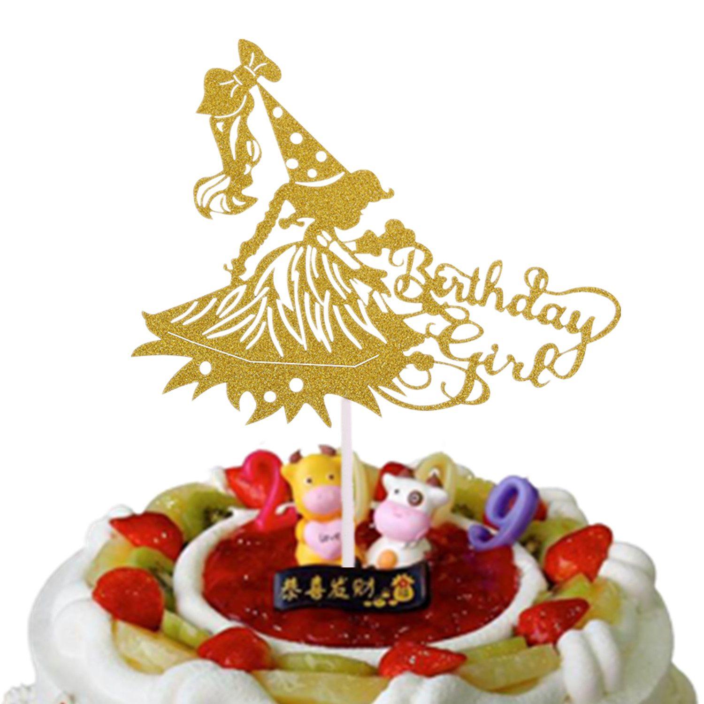 Grosshandel Geburtstag Madchen Kuchen Topper Flaggen Herr Frau
