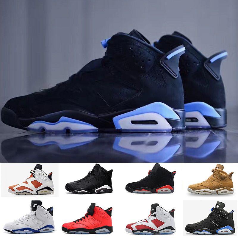 136e6a420750 Cheaper New 6 6s Mens Basketball Shoes UNC Infrared Carmine Toro ...