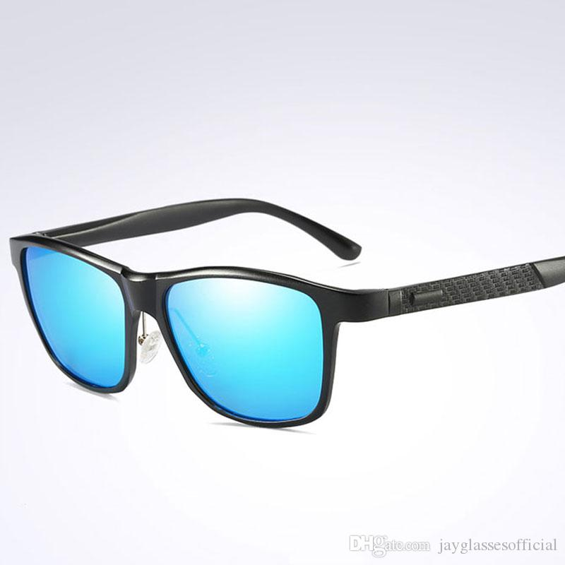 71f81630b05 Classic Polarized Sunglasses Brand Design High Quality Men Driving Sun  Glasses Male Square Glasses Night Vision Eyewear UV400 Shades Foster Grant  Sunglasses ...