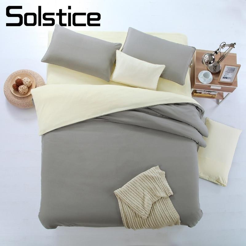 Großhandel Sonnenwende Home Textile Flachfolie Kissenbezug Bettbezug