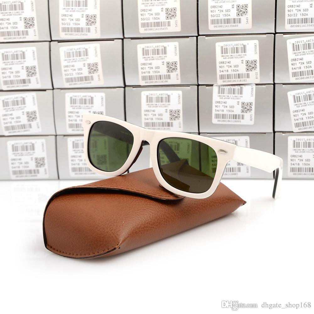 2b2a38afca48 ray 2140 планка черный белый солнцезащитные очки высокое качество  стеклянный ...