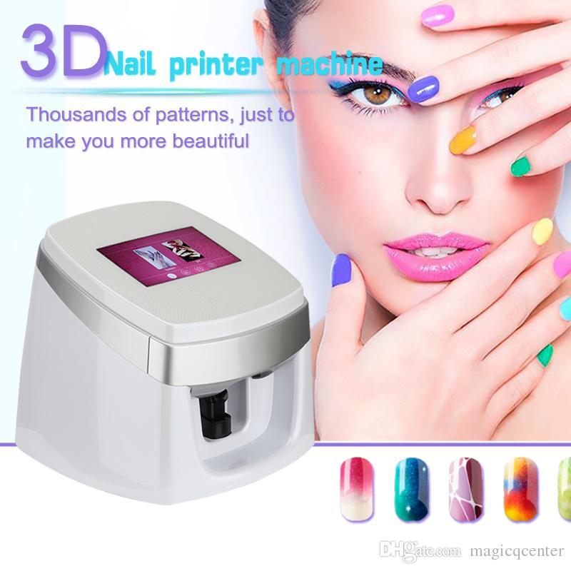 3d Digital Nail Art Printer Printing Technology And Nail Art Salon