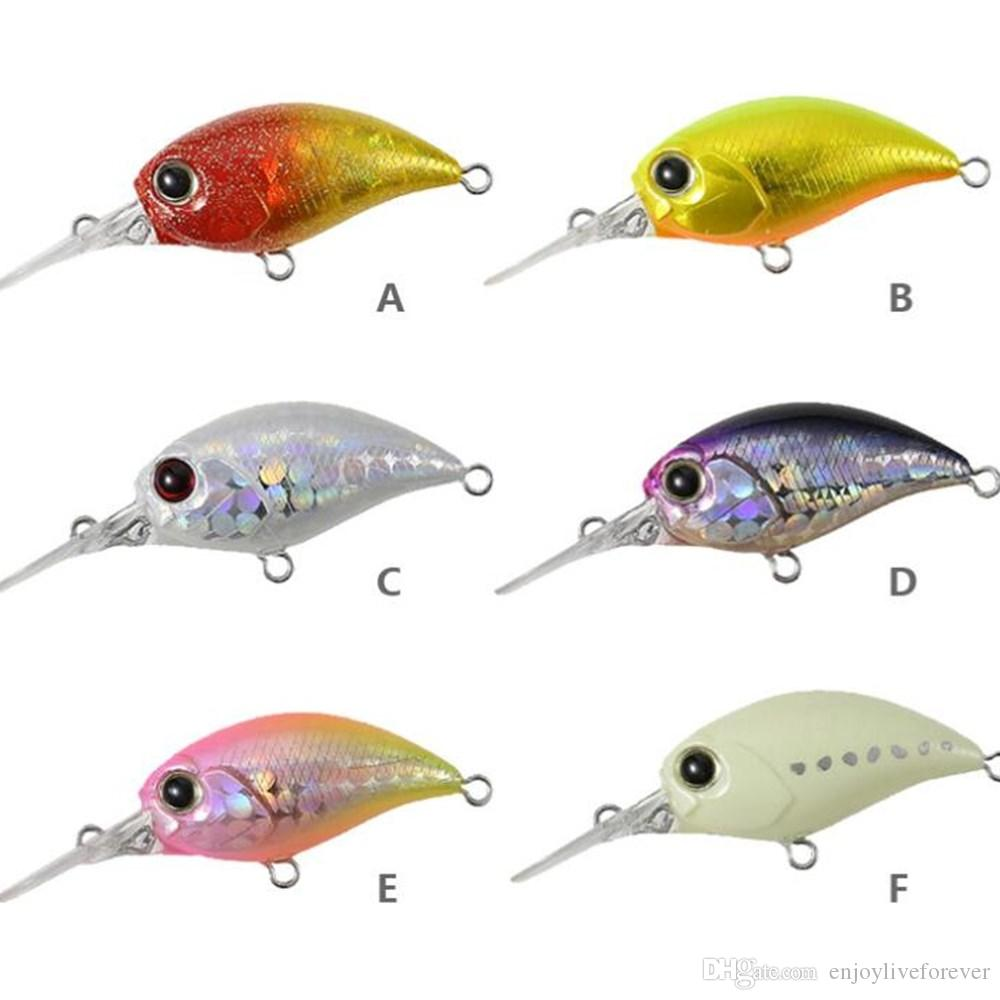 3cm 2.5g Floating Minnow Baits Lifelike Fake Bait Artificial Plastic Crankbait Fishing Lure with Single Hook for Casting Trolling