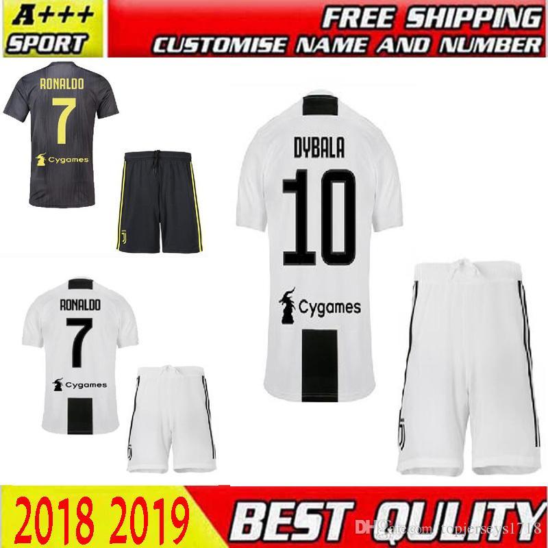 15d51863f 18 19 DYBALA Soccer Jersey Juventus Shirt 18 19 BONUCCI MANDZUKIC D ...