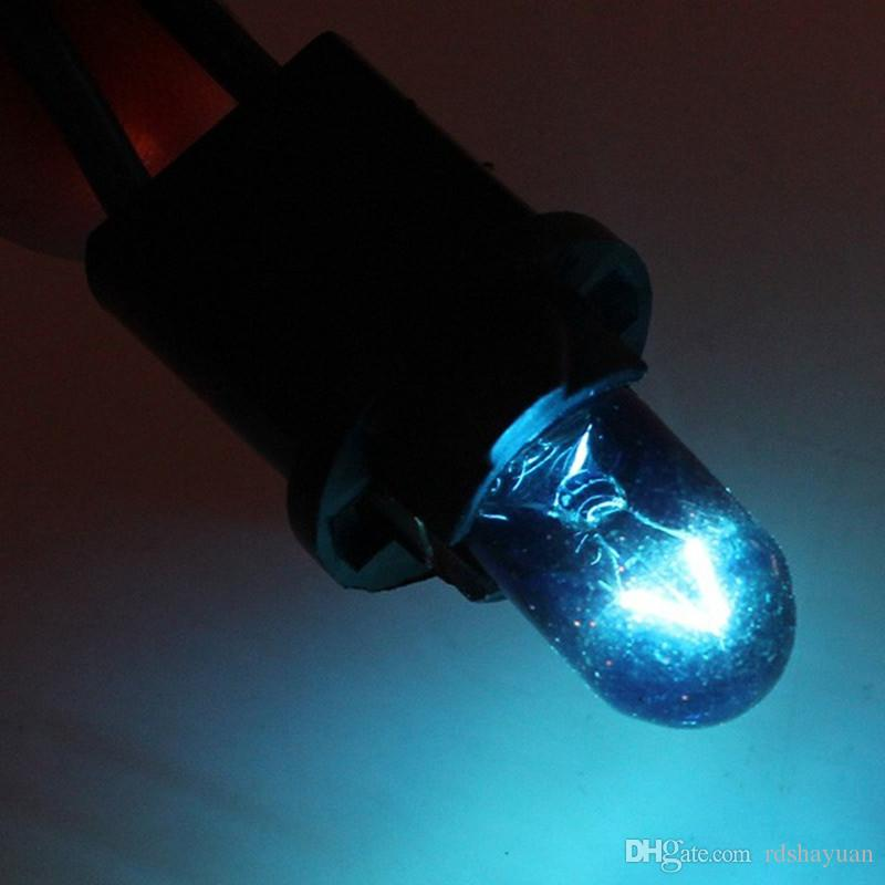T10 W5W 168 194 5000K 5W Blue Halogen Globe Front Parking Light Headlight Bulb Glass Wedge Base DC 12V