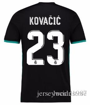 aed34fdc3ad 2019 1718 Real Madrid TOP Thai Quality Mateo Kovacic Customized Soccer  Jerseys Discount Cheap Football Jerseys BENZEMA RONALDO Football Shirts From  ...