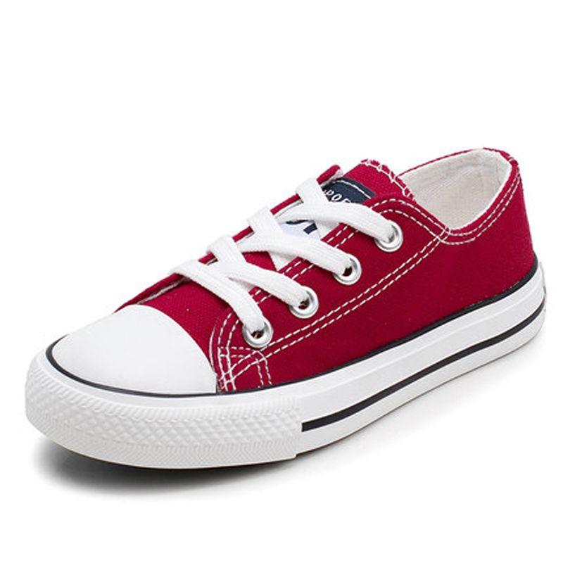 2ec989fe 2018 Canvas Children Shoes Sport Breathable Boys Sneakers Brand Kids Shoes  For Girls Jeans Denim Casual Child Flat Canvas Shoes Kids Footwear Online  ...