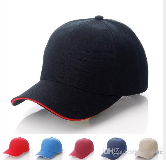 8cda34656c8 Hot Unisex Plain Baseball Cap Ball Solid Blank Visor Adjustable Hats Solid  Sports Visor Sun Golf Ball Hat Online with  3.08 Piece on Yicstore s Store  ...