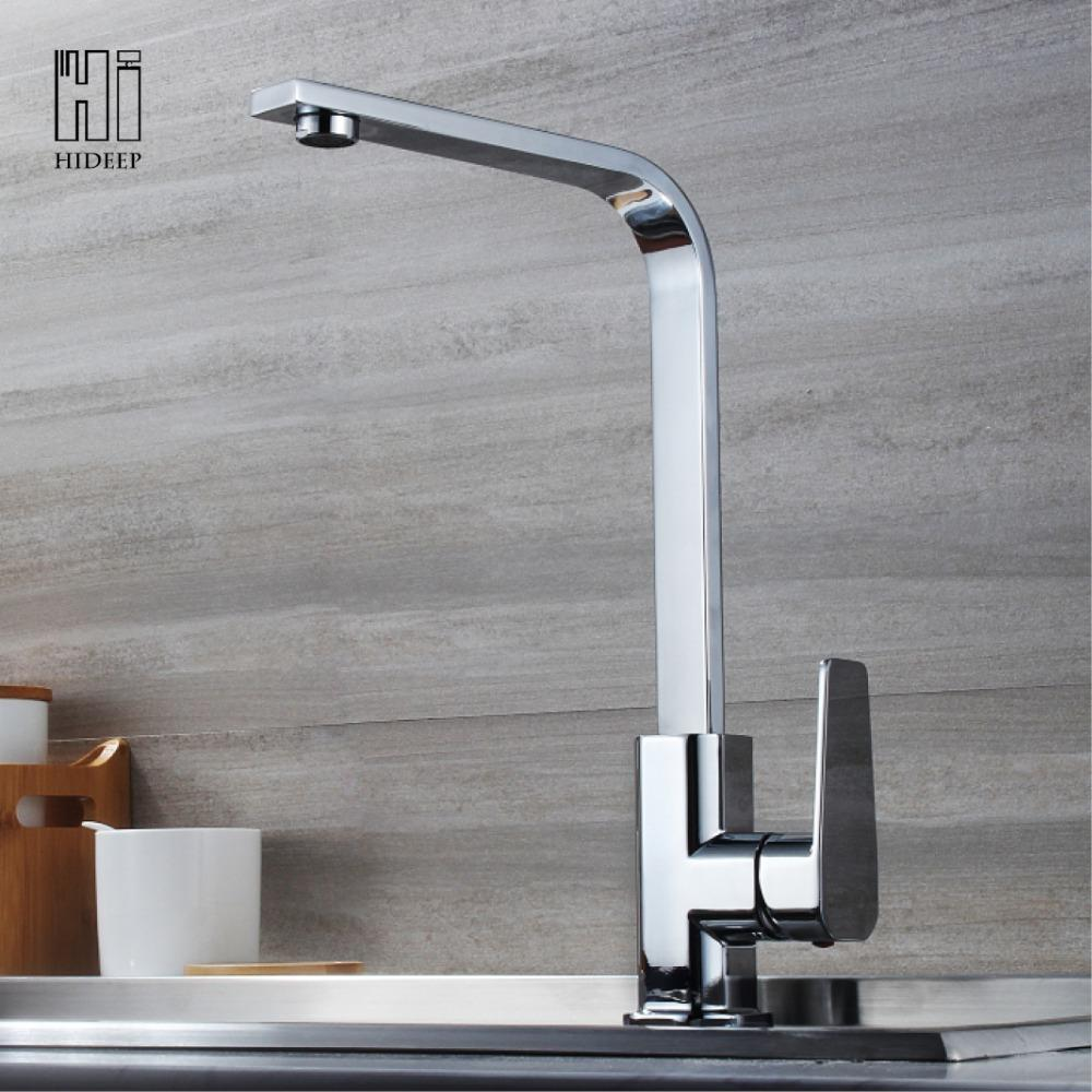 Ordinaire Best Hideep Kitchen Faucets Kitchen Hot Cold Water Mixer Pure Water Tap 304 Stainless  Steel Faucets 360 Swivel Under $148.17 | Dhgate.Com
