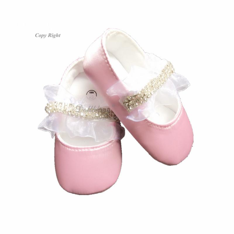 b05d2bbe3503c9 2019 Dollbling Plush Pink Breakfast At Etsy Flower Baby Girl Christening  Baptism Sparkle Crystal Cup Chain Bella Baby Shoes 0 1Y From Weilidianzi