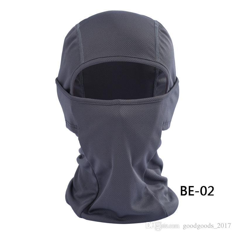 Vélo Vélo Masques Moto Barakra Chapeau Cyclisme Chapeaux Sport En Plein Air Ski Masque CS coupe-vent poussière tête définit Camouflage Masque Tactique MK253